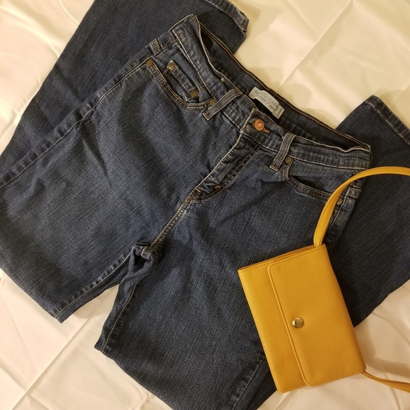 Levi's Denim - Levi's Perfectly Slimming 512 Bootcut Jeans Short